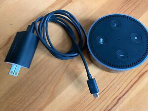 Amazon Echo  2nd Generation Smart speaker with Alexa Black