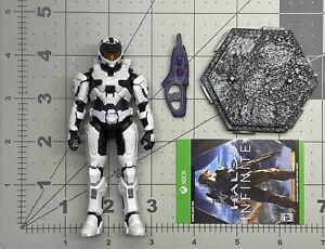 "1/18 or 4"" scale Jazwares Infinite series World of Halo Spartan Mark VII"