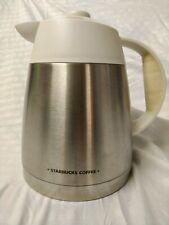 New listing Stainless Insulated Coffee Carafe - Starbucks Barista Aroma Grande White