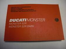 Ducati Fahrerhandbuch Monster S2R, Dark,  Anleitungs- u. Instandhaltungsheft