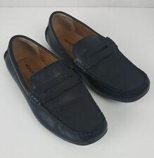 Alfani Men's Leather Penny Loafer Driving Moccasins Derek Size 9.5 M Slip-On
