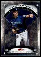 1997 DONRUSS PREFERRED SILVER RANDY JOHNSON SEATTLE MARINERS #104 PARALLEL
