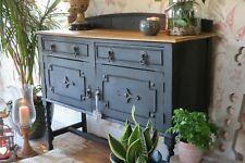 Vintage wooden sideboard, cabinet. Dresser.