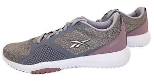 Reebok Women's Size 8 Flexagon Force Cross Training Sneakers Grey Lilac