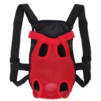 Fashionable Durable Pet Dog Five Holes Backpack Front Chest Tote Carrier Bag