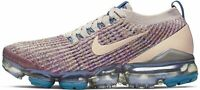 WOMENS NIKE AIR VAPORMAX FLYKNIT 3 - UK 5.5/US 8/EUR 39 - DESERT SAND