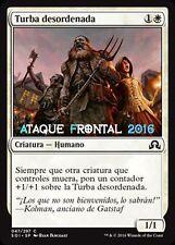 MTG 4 X TURBA DESORDENADA - Unruly Mob - ESPAÑOL NM SOMBRAS INNISTRAD