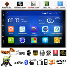 "quad core androïde 7"" Double 2din voiture GPS radio stéréo Video mp5 mp3 3G wifi"