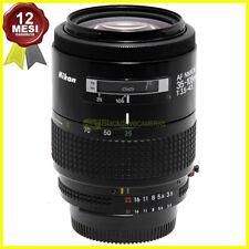 Nikon AF Nikkor 35/105mm f3,5-4,5 Macro full frame. Obiettivo per fotocamere.