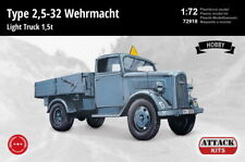 Attack 1/72 Model Kit 72918 Opel Blitz (Type 2,5-32) Wehrmacht 1,5t Light Truck