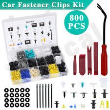800PCS Car Body Trim Clips Retainer Plastic Rivet Screw Fastener Bumper Auto