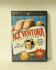 Ace Ventura Double Feature (DVD, 2009) Pet Detective When Nature Calls