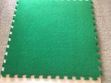 Artificial Grass Astro Tile Turf Mat Interlocking tiles play area 4m2 (4 mats)