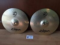 "NEW Zildjian Planet Z 14"" Hi Hat Pair of Cymbals"