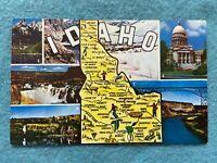 Views of Idaho Vintage Postcard