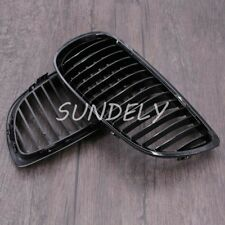 Gloss Black Front Kidney Grill Grille For BMW E92 E93 3-Series Coupe 06-10 2009