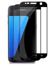 Samsung Galaxy S7 - Pack de 2 Films protection écran en verre trempé (Noir)