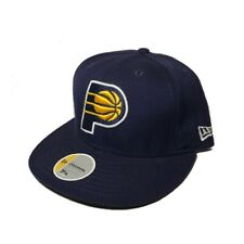 Indiana Pacers Blue Basic 9FIFTY New Era NBA Snapback Hat Cap Size 7 1/4