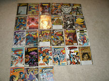 Superman Comic Book Lot - 27 Total - Excellent Condition !!