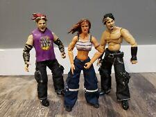 LITA MATT & JEFF HARDY BOYZ Finishing Moves JAKKS WWE WWF WCW Wrestling Figures