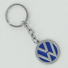 Volkswagen Blue Logo Key Chain