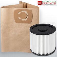 10 bolsas + 1 filtros aproximadamente adecuado para Parkside PNTS 1500 b3 filtro