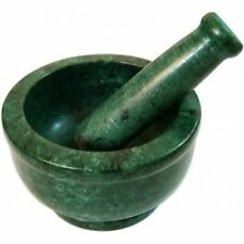 Gr8 INDIA Green Marble Spice Mixer Set - 5-inches