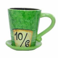 disney parks authentic alice in wonderland mad hatter hat coffee mug new