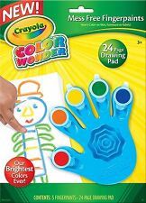 Crayola 75-2060 Color Wonder Finger paint NEW Mess Free Paint
