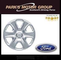 "Genuine Ford Fiesta 15"" Wheel Trim Silver SINGLE 2008-Onwards 1746251"