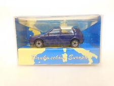 ESF-02919Herpa Werbung 1/87, VW Golf Dankeschön Europa, aus Sammlungsauflösung