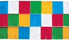 25 Meter Multi Coloured Table Wear Fringe Party Fete School Fayre Decoration