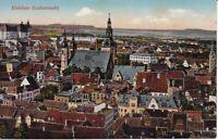 uralte AK, Eisleben Lutherstadt Blick von oben Kirche Teilansicht 1926 //2