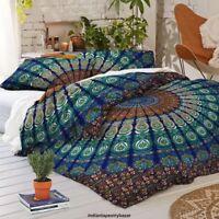 Indische Mandala Baumwolle Bettbezug Cover Single Bettwäsche Decor