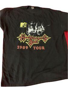 1989 Mtv Headbangers Ball Tour Shirt