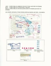 Taiwan Indonesian Parcel To Taipei Returned To Sender On Form 00-724
