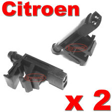 CITROEN XANTIA ZX BERLINGO FRONT WINDSCREEN WASHER JETS WATER NOZZLES X 2