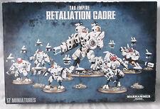 Warhammer 40k Tau Empire Retaliation Cadre-NIB-17 Miniatures