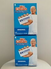 2 Pack MR. CLEAN Magic Eraser 6 Pads Extra Durable , Total Pads 12