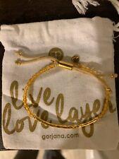Gorjana Power Gemstone Bracelet for Abundance -Gold / Citrine