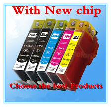 5 x HP 564XL Ink Cartridges For HP 3520 4620 3070 5510 5520 6510 6520 7510 7520
