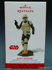 Biker Scout Trooper Star Wars Ewoks Endor ROTJ 2014 HALLMARK KEEPSAKE ORNAMENT