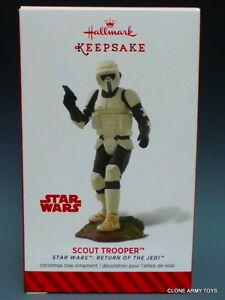 2014 Speeder Scout Trooper Star Wars Ewok HALLMARK ORNAMENT THE MANDALORIAN 2020