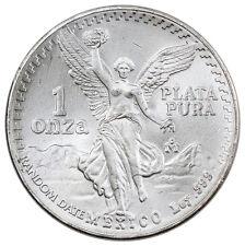 Random Date 1982-2016 1 Troy oz. .999  Silver Mexico Libertad Onza Coin SKU27462