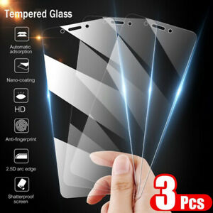 3Pc For Samsung Note 10 Plus S10 S9 S8 S7 Curved Tempered Glass Screen Protector