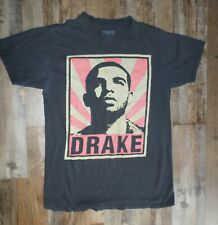 Drake T-Shirt Size Small Black Silhouette Type Hip Hop Rap