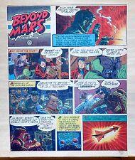 Beyond Mars by Jack Williamson - scarce full tab Sunday comic page Apr. 18, 1954