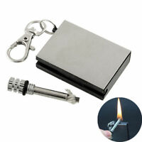 1pc Emergency Fire Starter Flint Match Lighter Metal Outdoor Camping Hiking SP