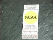 1990 NCAA Basketball Championship Tournament Midwest Ticket Georgia Bulldogs