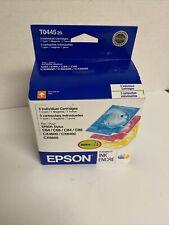 Genuine 3-PK Epson T044 T0445 Stylus C84 C86 C64 C66 CX6400 CX6600 CX4600